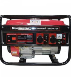 Генератор бензиновый MegArsenal GBL3000