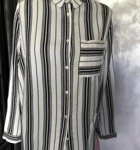 Рубашка женская 46 р, вискоза, Италия