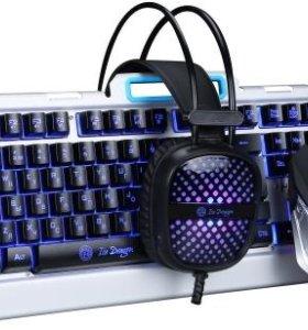 VAR-510 клавиатура + наушники + мышь
