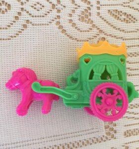Карета игрушка для девочек
