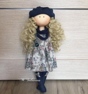 Кукла текстильная , ручная работа