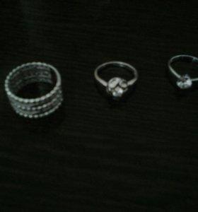 Кольца из серебра Соколов