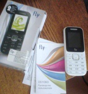Кнопочный Телефон Fly DS106D