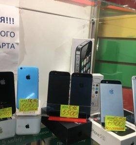 Оригинальные Apple iPhone 4, 4s, 5, 5с, 5s, 6, 6s