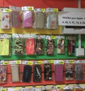 Чехлы для Apple iPhone 4s, 5, 5c, 5s,6, 6+,7,7+