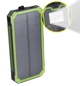 Внешний аккумулятор Power bank Solar Charger 20000