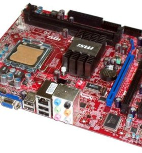 MSI G31TM P35 (MS-7529 VER:1.6). LGA775. DDR2