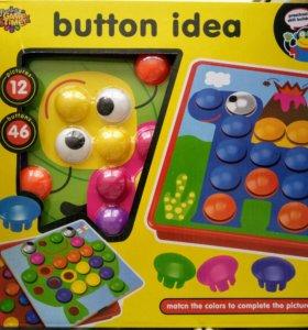 Развивающая мозаика Button idea.