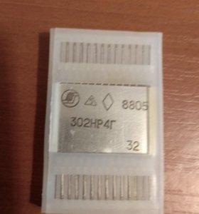 Интегральная микросхема 302НР4Г