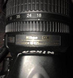 Объектив Nikon DX af-s Nikkor 18-105mm 1:3.5-5.6 G