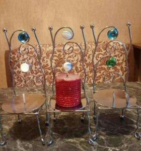 Подсвечники+свечи