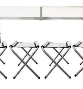 Стол туристический со стульями