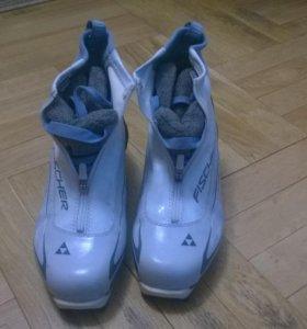 лыжные ботинки Fischer 41 размера