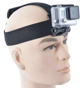 Крепление на голову для экшн камеры