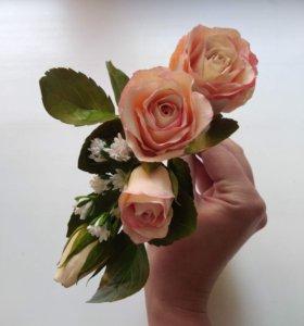 Веточка роз