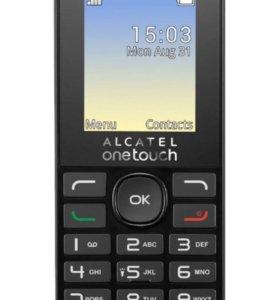 Мобильный Телефон Alcatel OT1020D Dual sim black