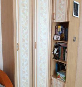 Шкаф угловой с двумя пеналами
