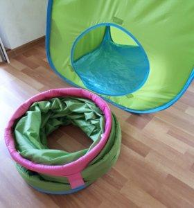 Палатка IKEA с туннелем