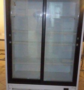 холодильник с раздвижными дверями