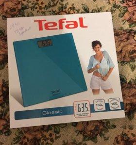 Весы электронные напольные tefal
