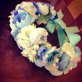 Цветочный веночек для ваших принцессок 💕