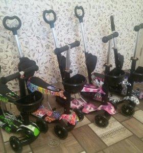 Ноые! Самокат Scooter . Для детей от 1.5 года до 6