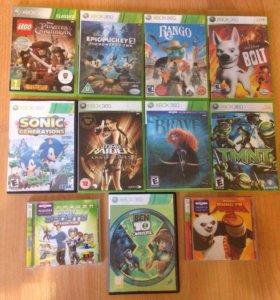 Диски на Xbox 360 лицензионные