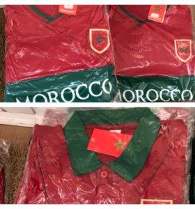 Спортивная атрибутика футбольной команды Марокко