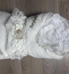 Одеяло конверт для выписки