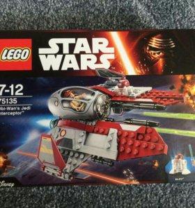 Лего STAR WARS истребитель Оби-вана Кеноби