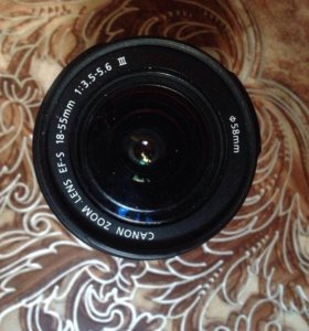 Объектив Canon EF-S 18-55mm f/3.5-5.6 IS STM Black
