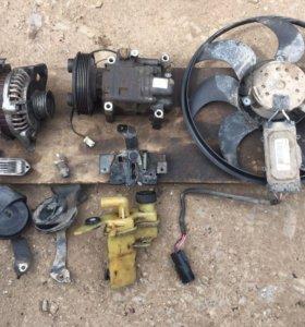 Запчасти Mazda 3 BK 1.6 генератор радиаторы и Тд