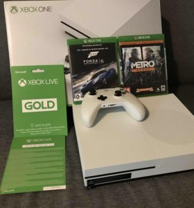 Xbox One S 1Gb и бонусы