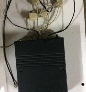 Мини АТС Premier PAX 106 с двумя телефонами