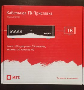 Кабельная HD-приставка МТС DCD4404