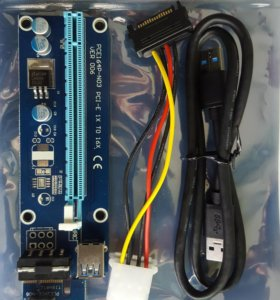Riser (райзер) PCI Ver 006 USB 3.0 майнинг ферма