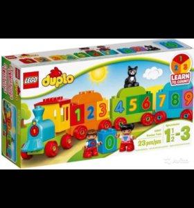 Lego duplo Веселый поезд