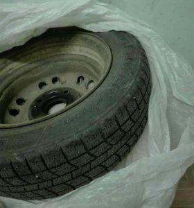 Комплект зимних колес на Дэу Матиз