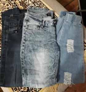Джинсы женские размер 28,29.
