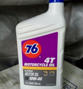 "Масло ""Conoco Phillips 76"" 10W40 4T Motorcycle Oil"