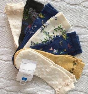 Новые носки Некст 7 пар
