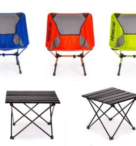 Комплект 3 стула + стол для кемпинга.Хороший выбор