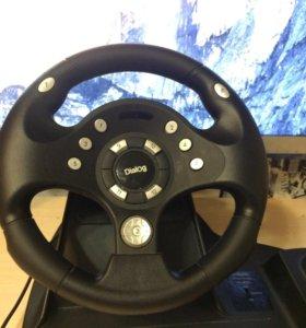 Игровой руль Dialog gw 11 vr