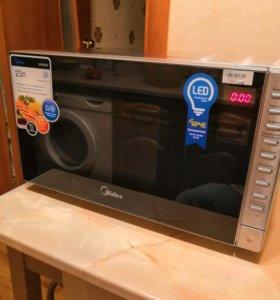 Микроволновая печь+гриль+конвекция