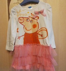 Платье Свинка Пеппа 3Т
