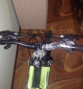 Велосипед новый,Trinx21скорость,19рама,26 колеса