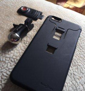Чехол на iPhone 6S+ с магнитным креплением для авт