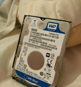 Жесткий диск 500gb wd blue
