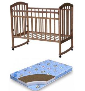 Новая кровать + матрас