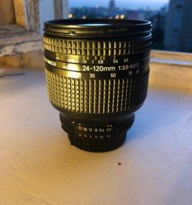 Nikon 24-120mm f/3.5-5.6D AF